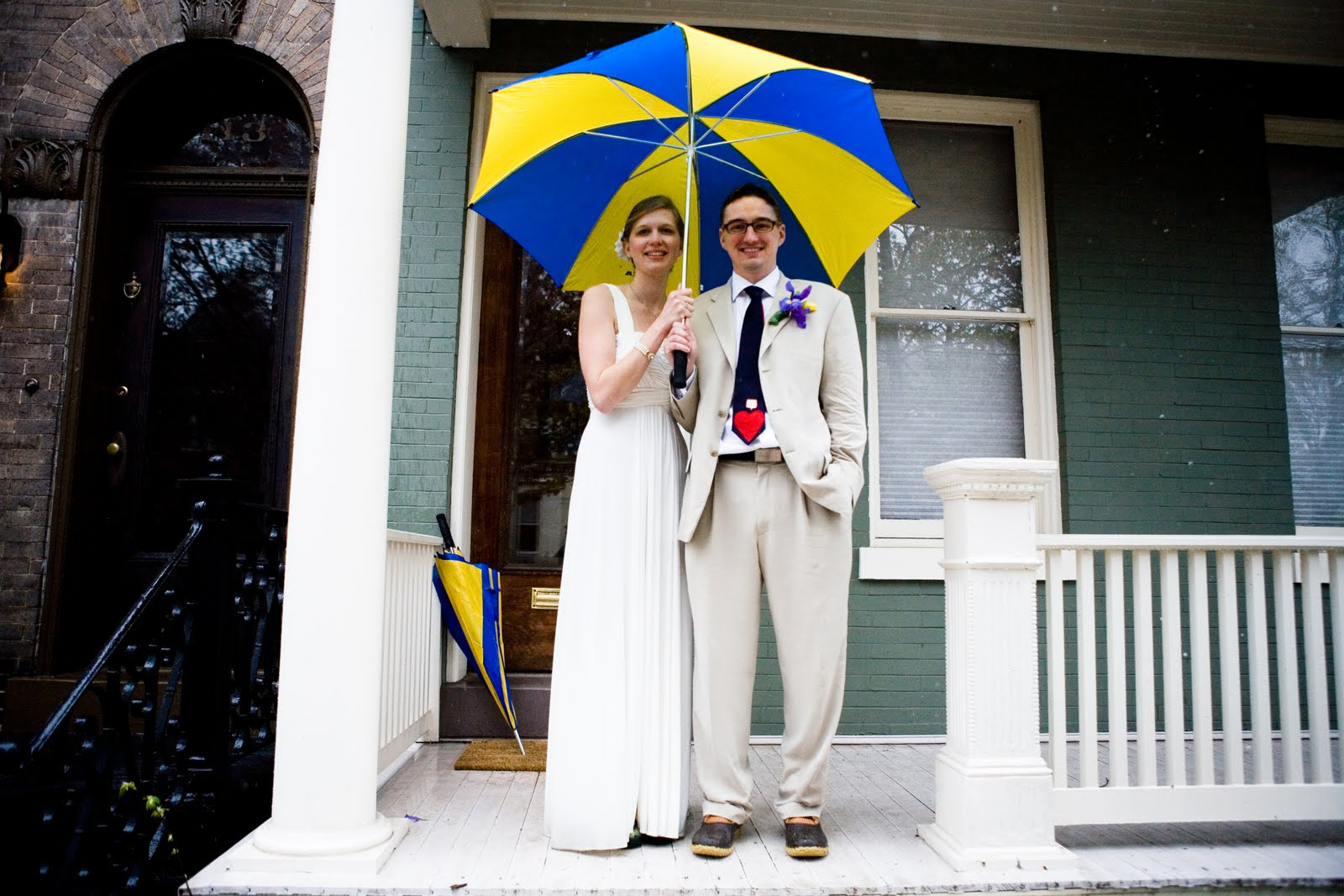 2000 Dollar Budget Wedding: Guest Post: Weathering Wedding