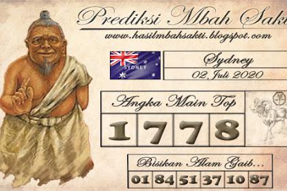 Prediksi Mbah Sakti Togel Sydney Kamis 02 Juli 2020