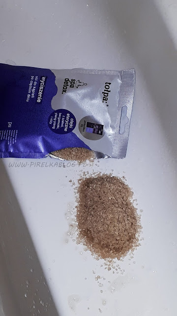 Spa detox, wyciszenie od Tołpa | Sól do kąpieli po ciężkim dniu