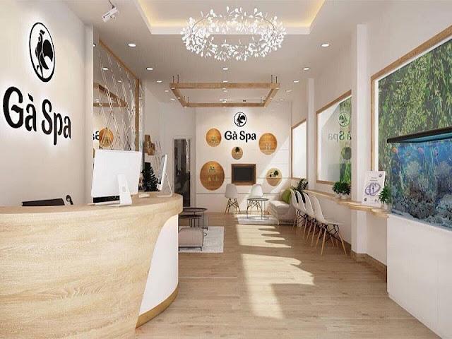 Gà Spa là chuỗi thương hiệu spa chuyên chăm sóc da và điều trị các vấn đề về: Mụn – Thâm – Sẹo