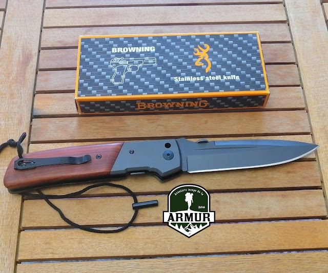 Briceag Browning DA52 cutit vanatoare, supravietuire, Knife,