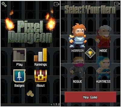 game ringan pixels dungeon