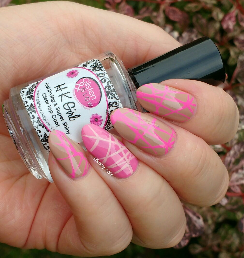Knitty Nails 40 Great Nail Art Ideas Nude A Colour With Accent Nail