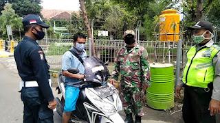 Area Perumahanpun Jadi Sasaran Operasi Penegakan Disiplin Prokes Satgas Covid-19