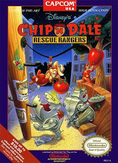 Capa do jogo Chip N Dale Rescue Ranger