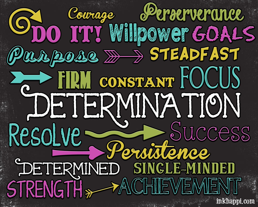 we discussed what determination is and how it manifests itself in the lives of your students everyone agreed that our challenge a workload requires quite a