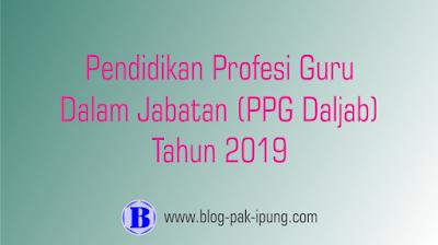 PPG Daljab 2019