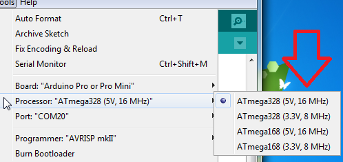 How to Upload Sketch to Arduino Pro Mini ~ Arduino Geek