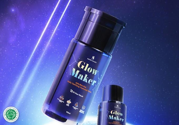 Cara Penggunaan Somethinc Glow Maker AHA BHA PHA Clarifying Treatment Toner, Kulit Wajah Glow Up Seketika!