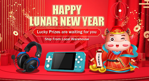 Happy Lunar New Year - Boa promoção da Tomtop