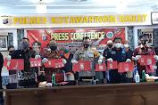 Selamatkan Nyawa Generasi Bangsa, Polres Kobar Musnahkan Shabu 86,30 Gram