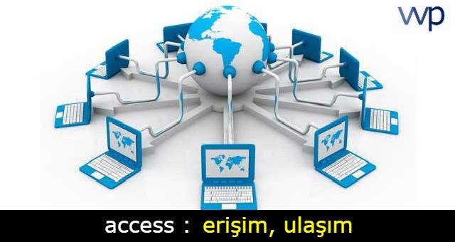 access tükçe