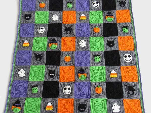 Halloween Blanket Crochet Along - Free Pattern