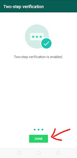WhatsApp Two Step Verification kaise kare