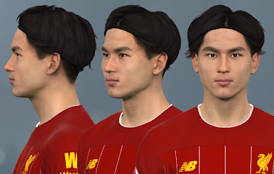 PES 2017 Faces Takumi Minamino by WER Facemaker