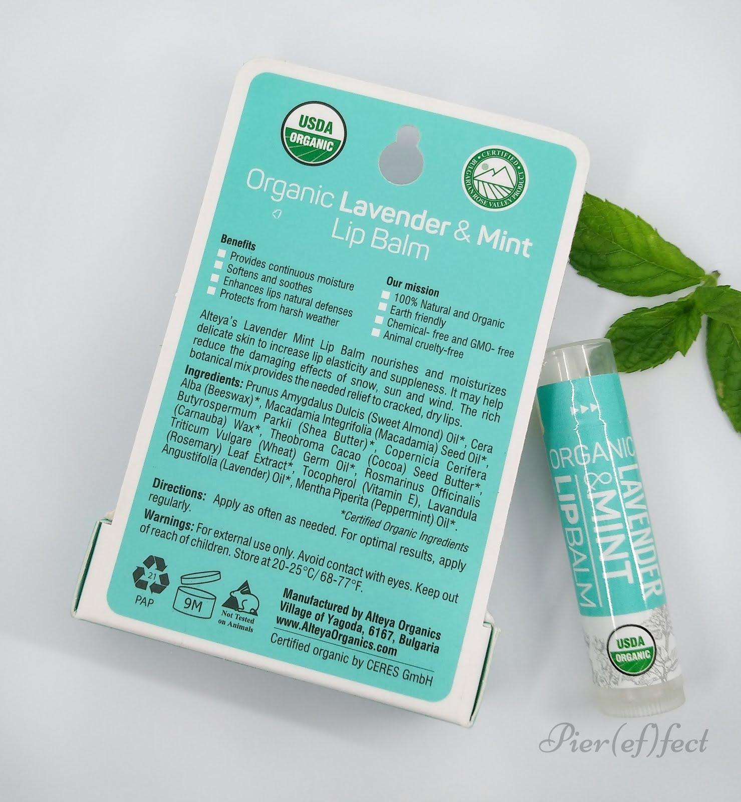recensione alteya organics balsamo labbra amazon