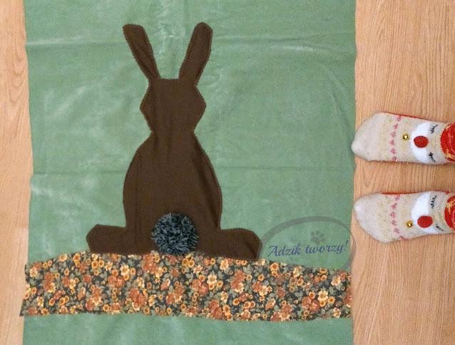 DIY Wielkanocne poszewki jak uszyć  - Adzik tworzy