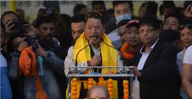 Failed to keep word - Bimal Gurung targets BJP