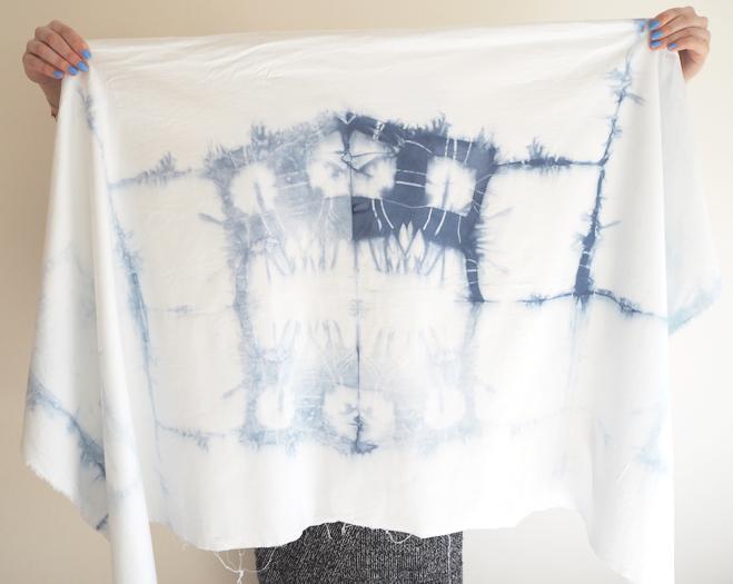 Diy How To Shibori Dye Itajime Made Up Style