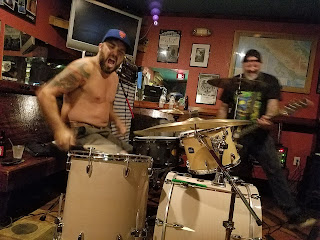 The Nerve Scheme - Drummer, Matt Carreta and Bassist, Greg Willis