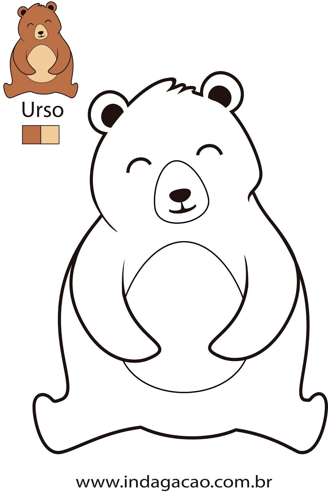 desenho-para-colorir-urso