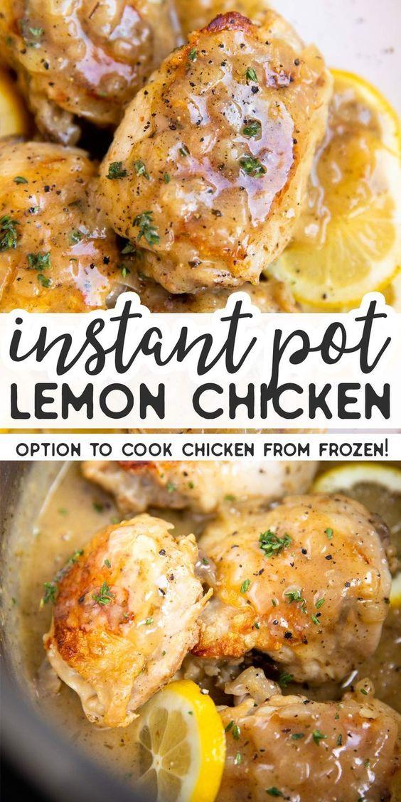 Instant Pot Lemon Chicken
