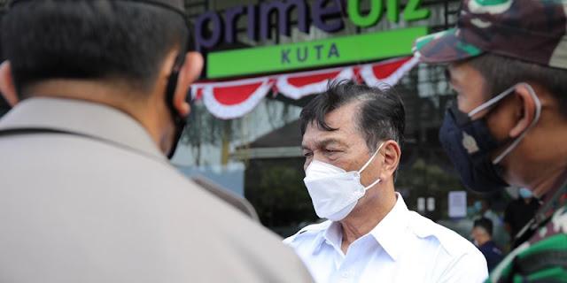 Tak Serius Tangani Covid-19, Luhut Semprot Gubernur Bali I Wayan Koster
