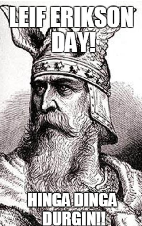 Leif Erikson Day Wishes Sweet Images