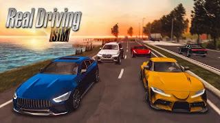 تحميل لعبة real driving sim مهكرة