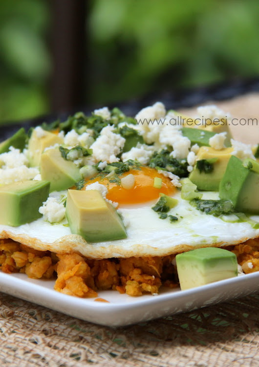 Mashed Plantains and Eggs Recipe