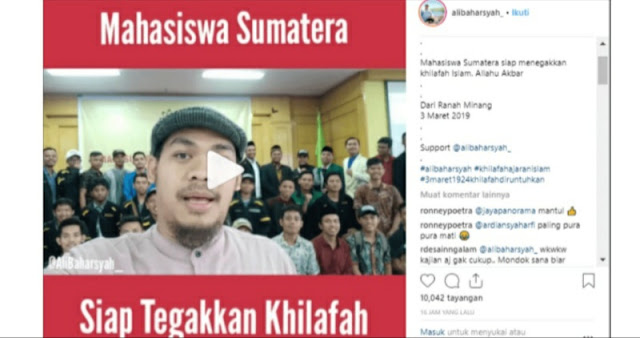 """VIRAL! Video """"Mahasiswa Sumatera Siap Tegakkan Khilafah"""""""