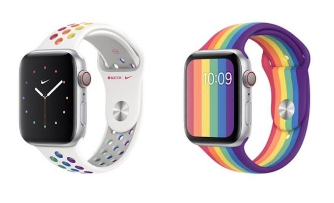 """Apple Watch ganha pulseiras do """"Orgulho LGBT"""" em parceria com a Nike"""