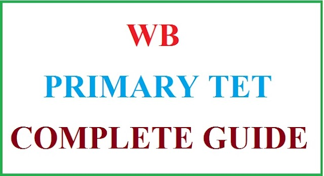 WB Primary TET Complete Guide