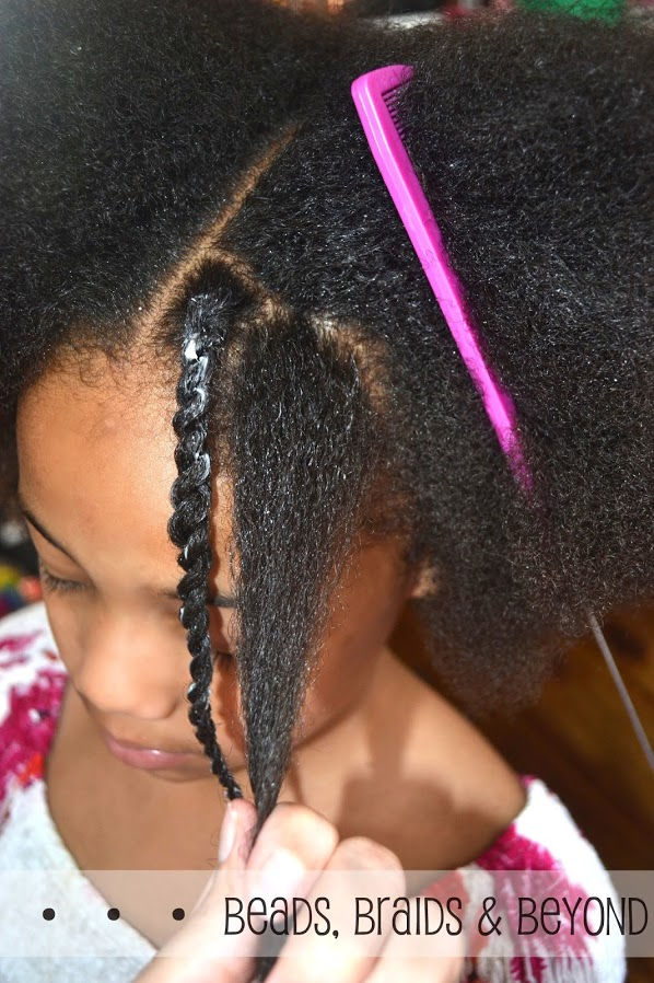 Sensational Beads Braids And Beyond Little Girls Natural Twist Out Step By Hairstyles For Men Maxibearus