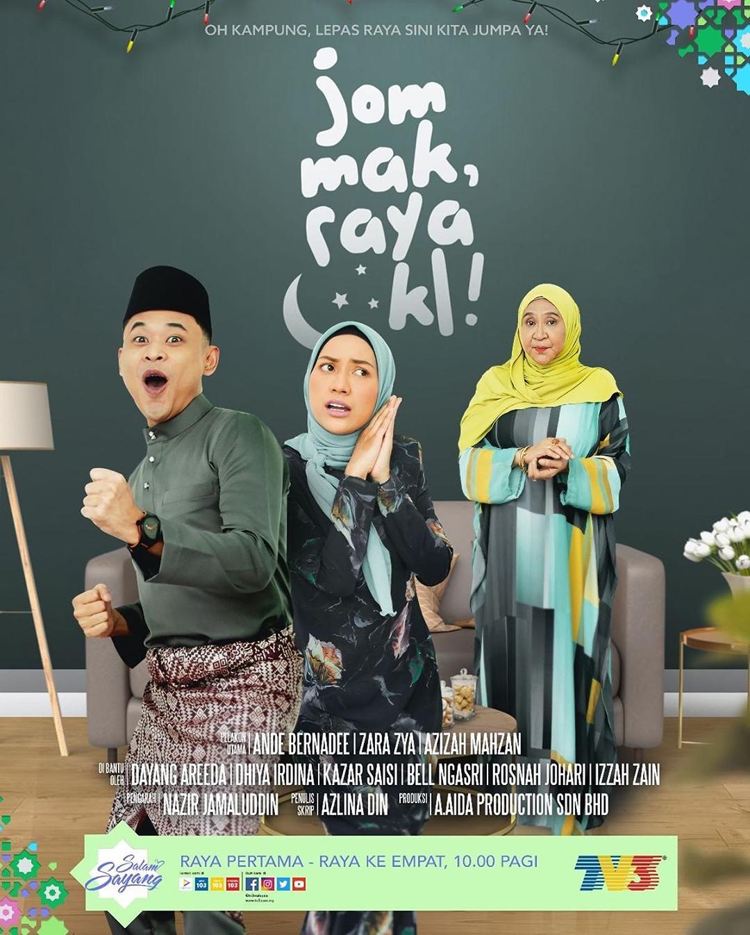 Drama jom mak raya kl tv3