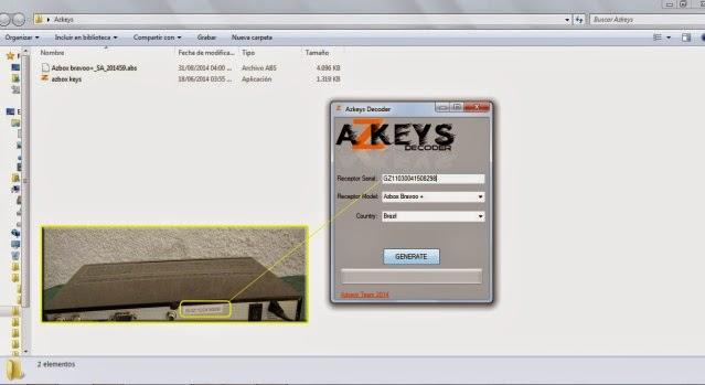 Azkeys herramienta para actualización septiembre 2014