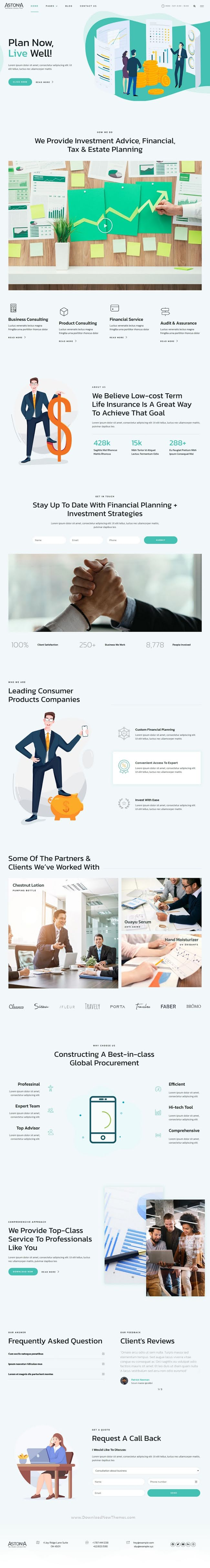 Business Consulting Elementor Template Kit