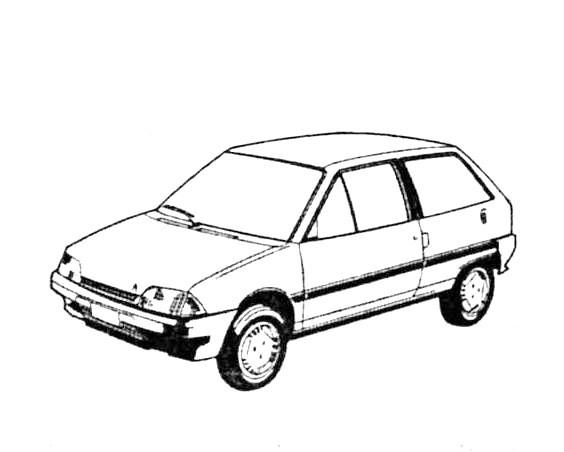 JesCarClassic: CITROEN AX 1986-1998