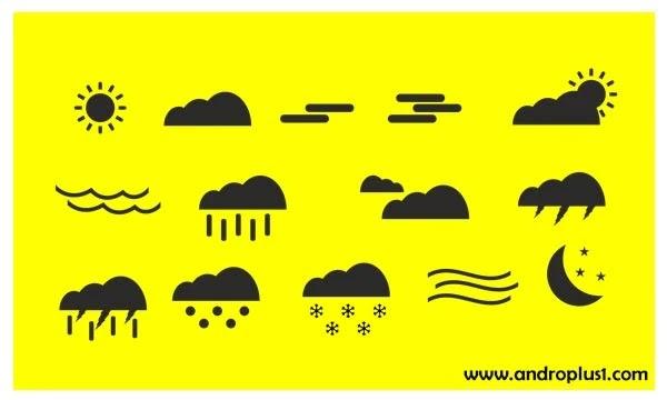 برنامج الطقس للايفون