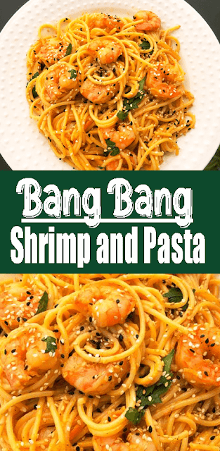 Bang Bang #Shrimp and #Pasta