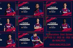 FC Barcelona Start Screen Pack - PES 2017