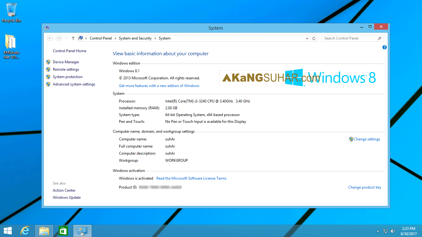 Free download Windows 8.1 AIO 32Bit & 64Bit Integrated Update Augustus 2017 Final full version with activator KMS latest version terbaru gratis.