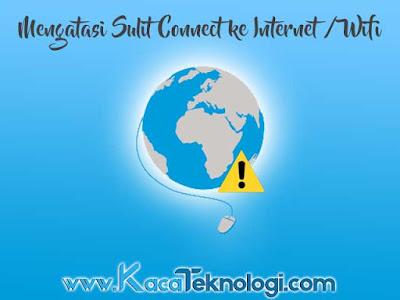 Cara mengatasi internet limited access wifi dan tidak bisa connect pada windows 7/8/8.1/10. Masalah komputer atau laptop yang tidak bisa koneksi ke Internet atau Wi-Fi merupakan masalah yang umum dan sering terjadi. Untuk mengatasinya sebelumnya anda harus tahu dulu apa penyebab dari sulitnya connect ke Wi-Fi atau internet ? jika sudah menemukan penyebabnya barulah anda selesaikan masalahnya.