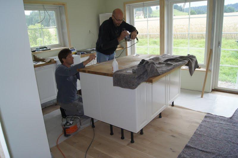 ikea k cheninsel bauen. Black Bedroom Furniture Sets. Home Design Ideas