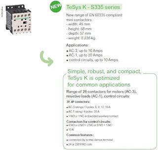 TeSys K- S335 series