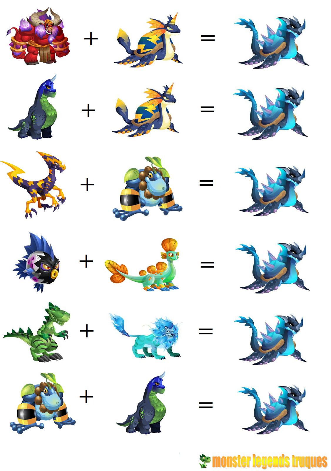 Monster Legends Breed Darknubis