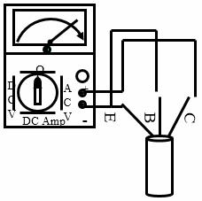 Menguji transistor NPN