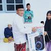 Anggota DPRD Sumenep Dapil VII Serahkan Bantuan Sembako dan Sound Untuk Muslimat NU Raas