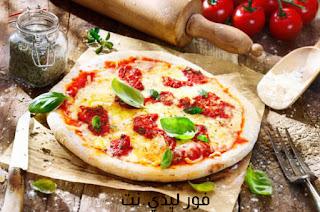 طريقة بيتزا مارجريتا