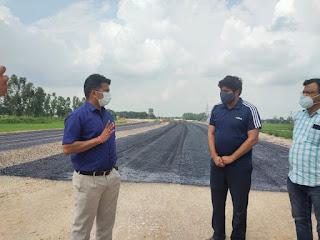 #JaunpurLive : डीएम ने 25 जून तक गौराबादशाहपुर बाईपास मार्ग चालू करने का दिया निर्देश